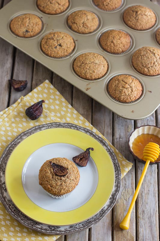 Honey and Fig Bran Muffin Recipe