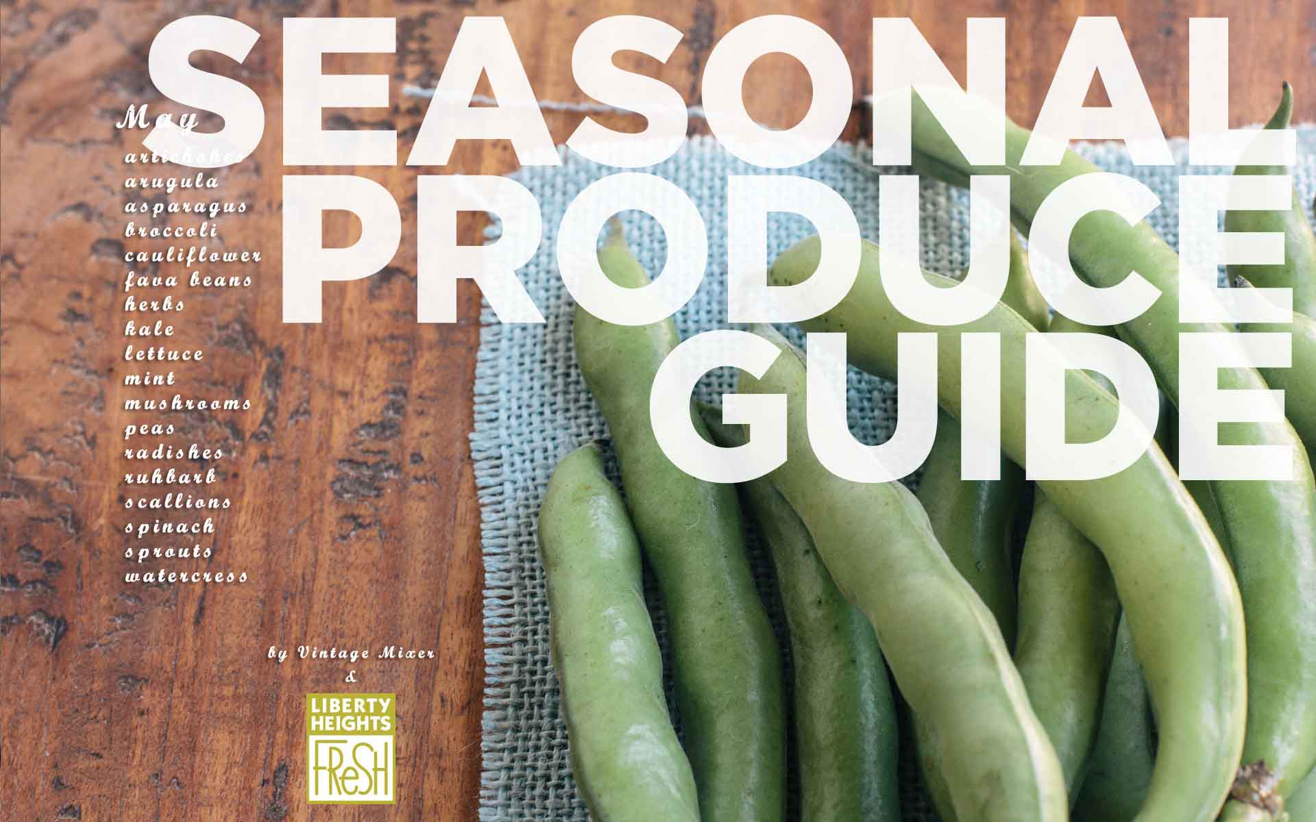 April 2013 Seasonal Guide
