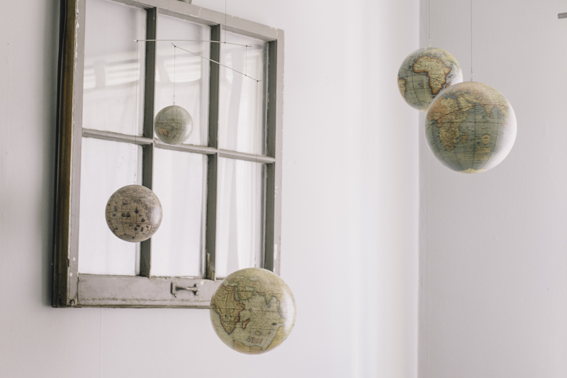 Globe Themed Nursery
