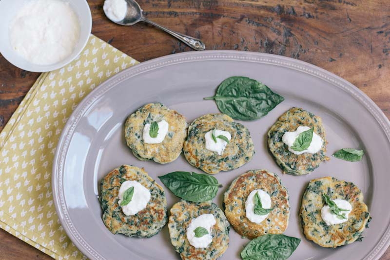 Swiss Chard and Ricotta Cakes Recipe