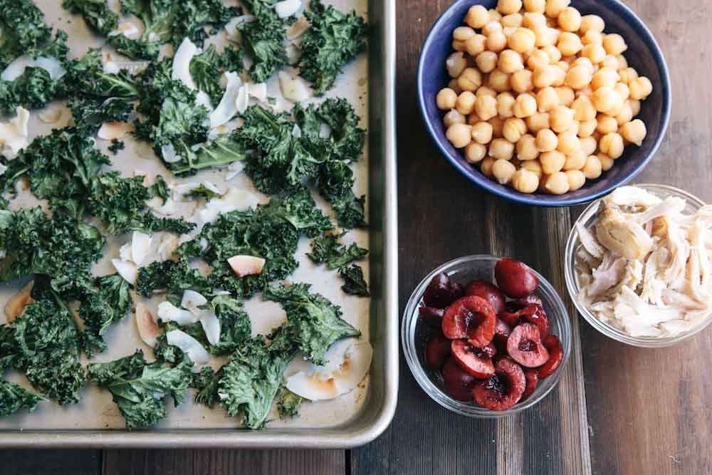 Cherry Kale Salad Recipe