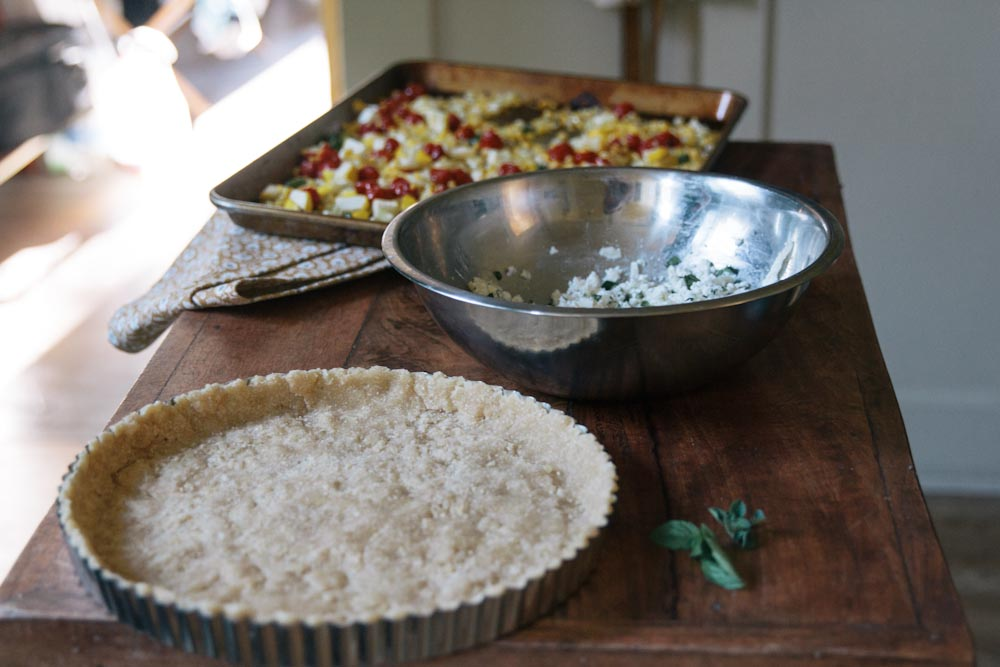 Lima Bean Flour Tart Dough Recipe