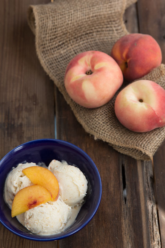 Peach Ice Cream Recipe