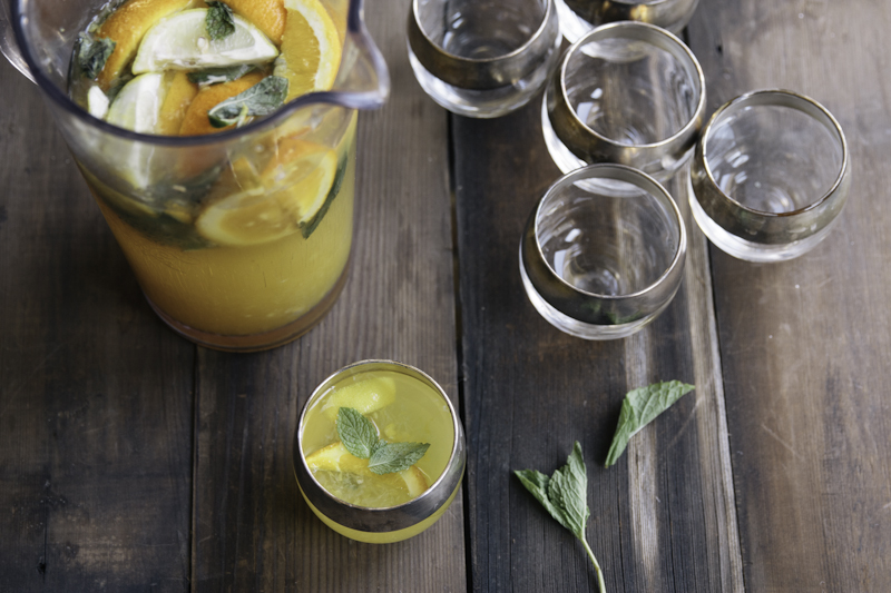 Stag Party Man Food Bourbon Lemonade Recipe