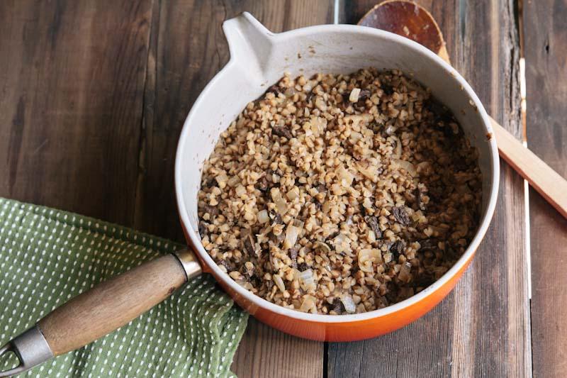 Wild Mushroom Buckwheat Kasha Recipe