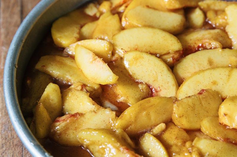 Peach Buckle Coffeecake Recipe