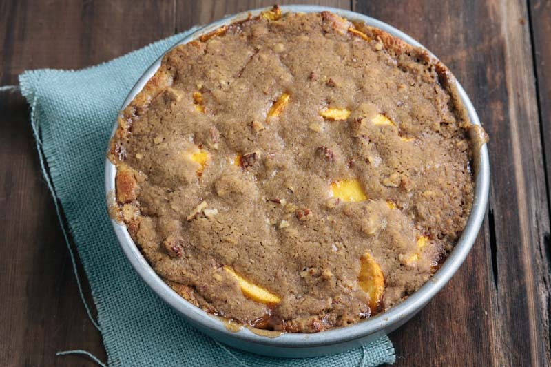 Peach Buckle Coffeecake Recipe