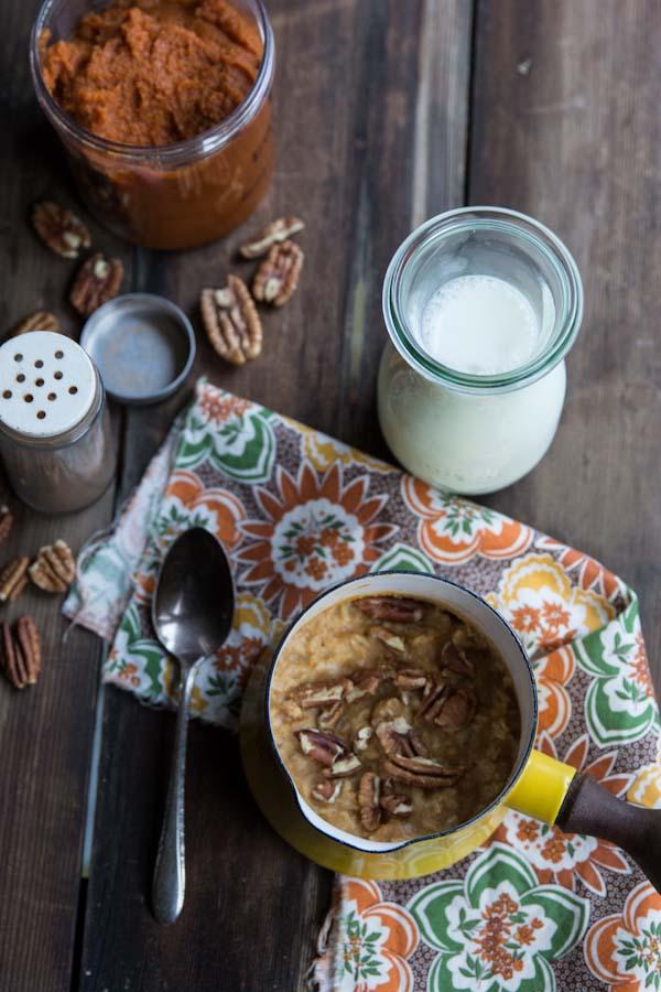 Sugar-free Pumpkin Oatmeal Recipe