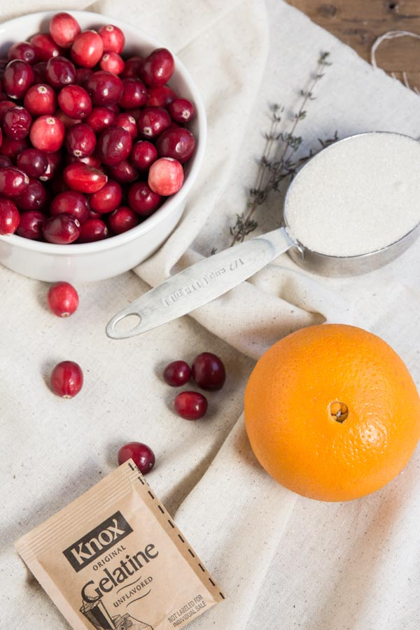 Cranberry Orange Sherbet Recipe