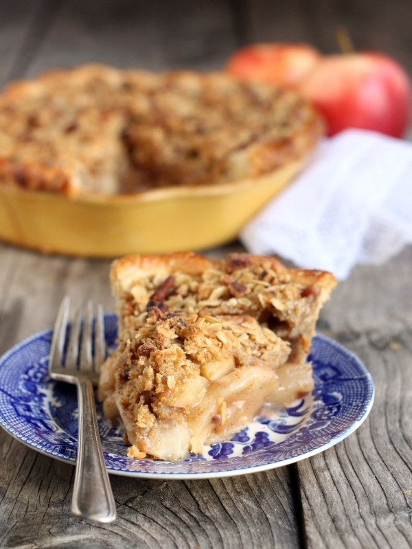 Dutch Apple Pie Recipe by Completely Delicious