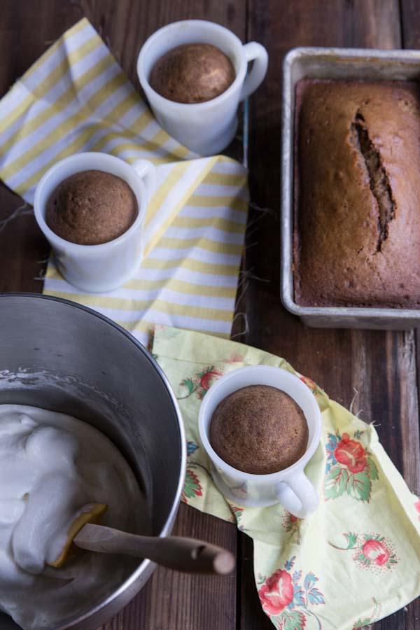 Gingerbread Latte Mug Cakes