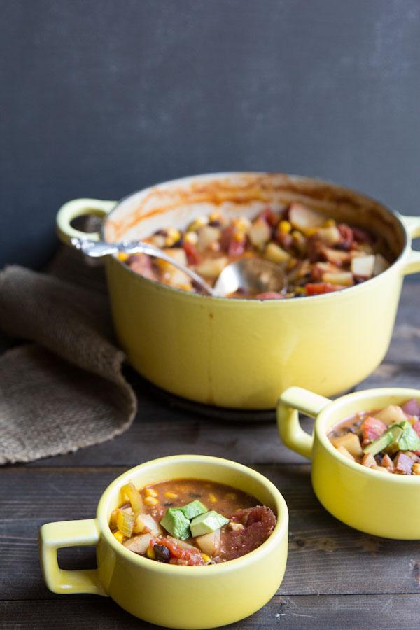 Quinoa and Vegetable Chili Recipe