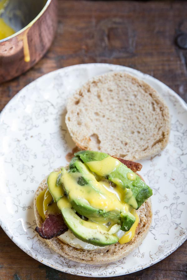 Bacon Avocado Eggs Benedict Recipe
