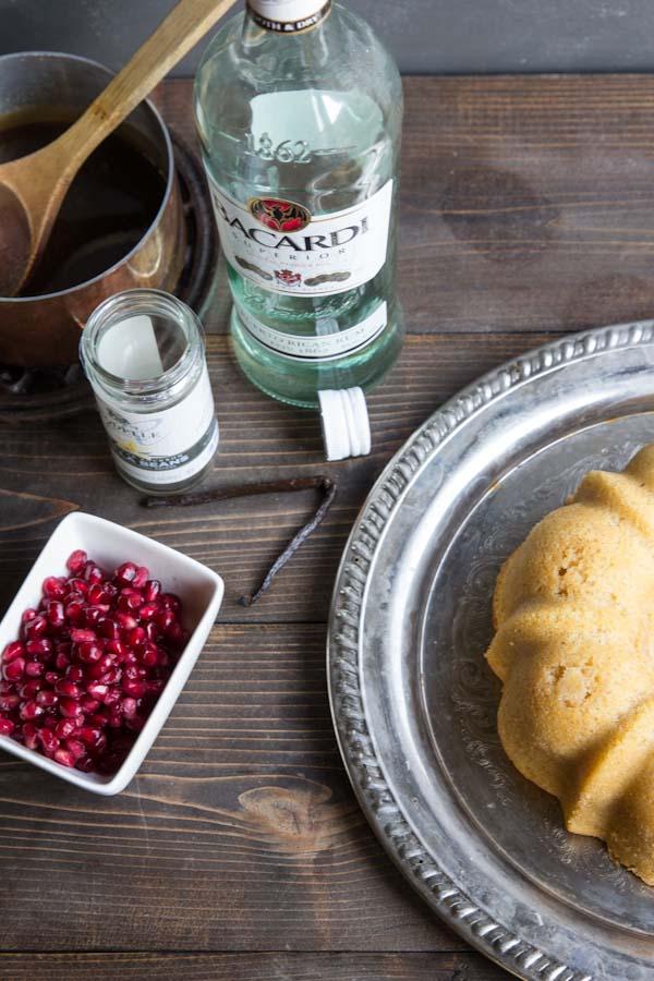Vanilla Bean Rum Bundt Cake Recipe