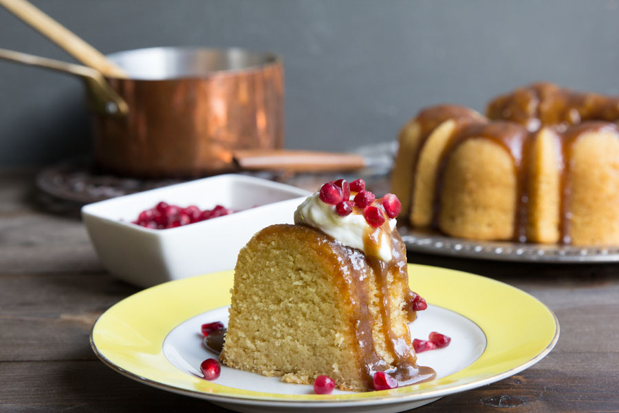 Vanilla Bean Rum Bundt Cake Recipe