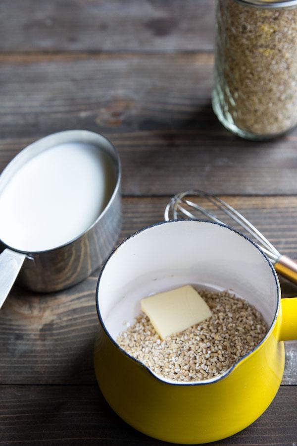 Overnight Steel Cut Oatmeal Recipe