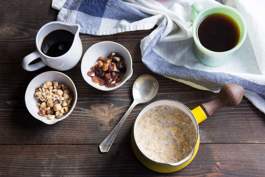 Overnight Steel Cut Oats Recipe