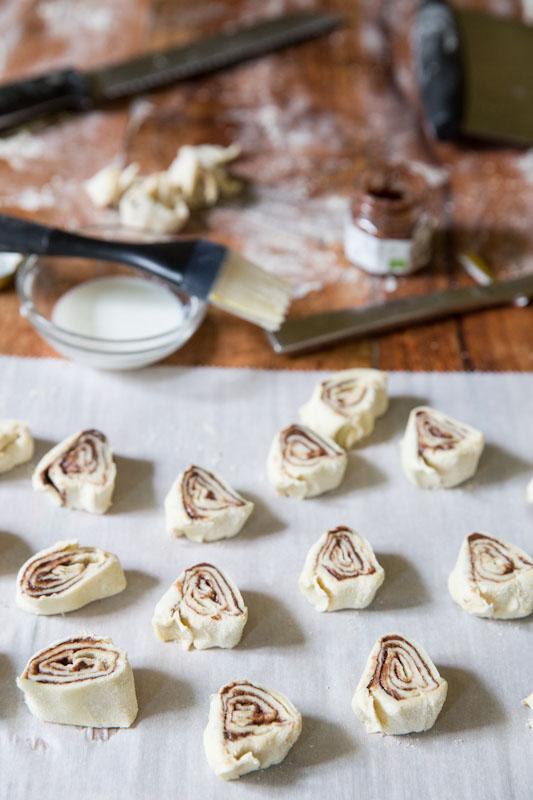 Nocciolata Pinwheels Recipe • theVintageMixer.com