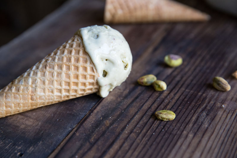 Pistachio Frozen Yogurt Recipe