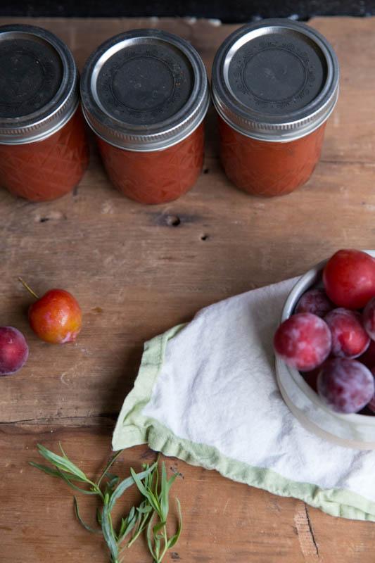 Plum tarragon jam recipe vintage mixer - Plum jam without sugar homemade taste and health ...