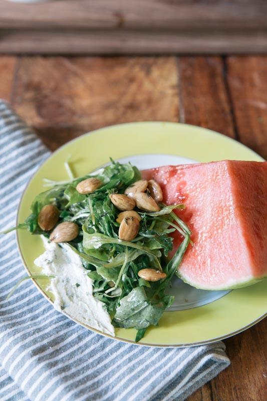 Watermelon Wedge Salad Recipe •theVintageMixer.com
