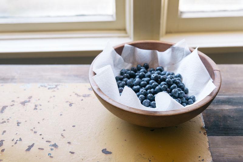 Blueberry Bread Recipe • theVintageMixer.com