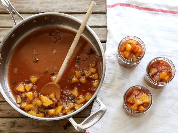 Peach Jalepeno Chutney Recipe