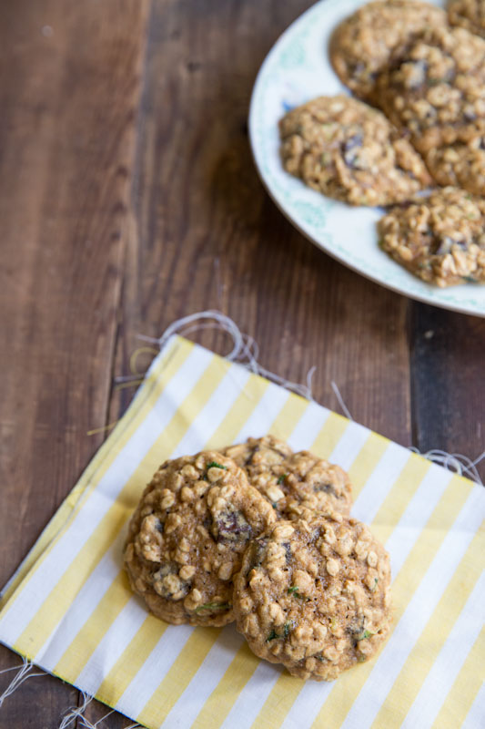 Recipes for zucchini chocolate chip cookies