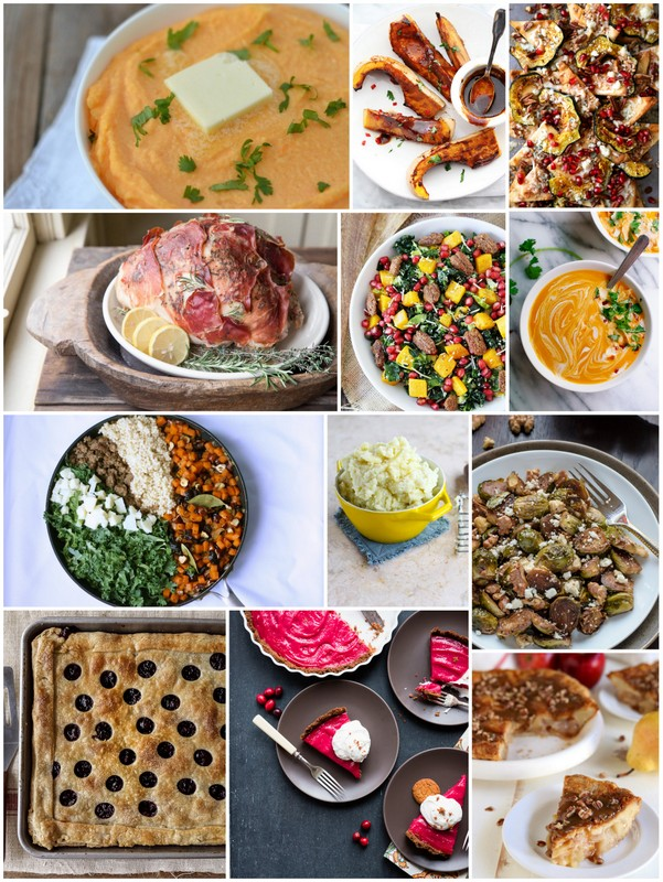 Seasonal Thanksgiving Recipes • theVintageMixer.com