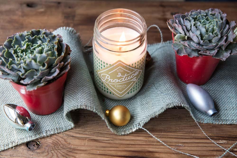 Produce Candles and Favorite Dinner Recipes • theVintageMixer.com