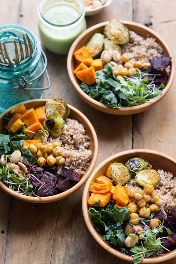 Super Bowl Salad Recipe • theVintageMixer.com