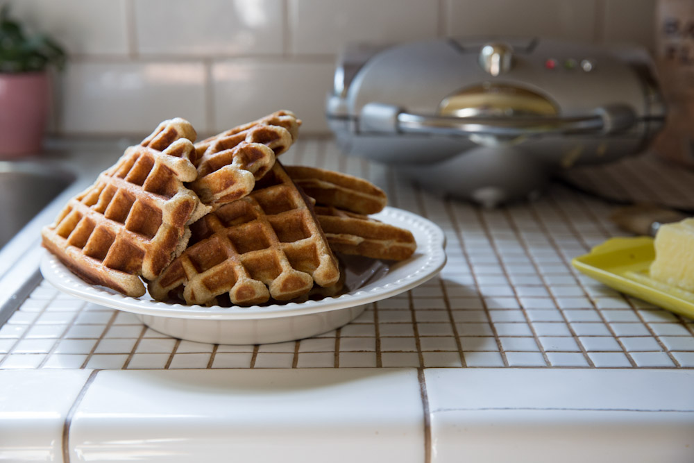 Winter Breakfast Recipes • theVintageMixer.com #waffles #breakfast