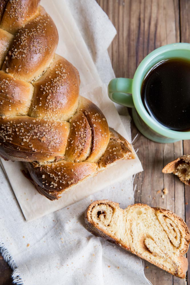 cinnamon roll challah recipe