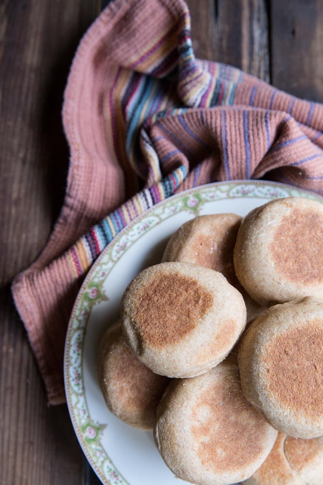 whole wheat english muffin recipe