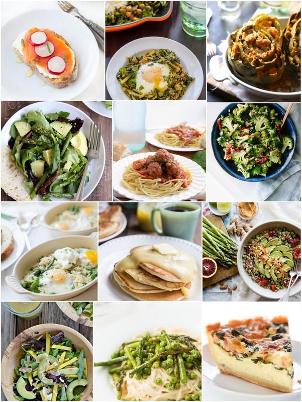 March Seasonal Recipes  • theVintageMixer.com #eatseasonal