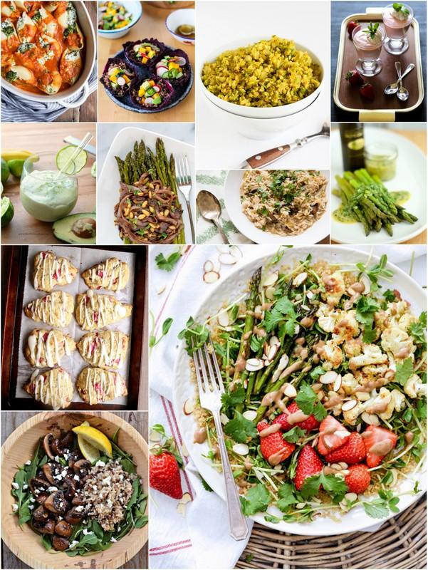 Apri Seasonal Recipes •theVintageMixer.com #eatseasonal #healthyrecipes