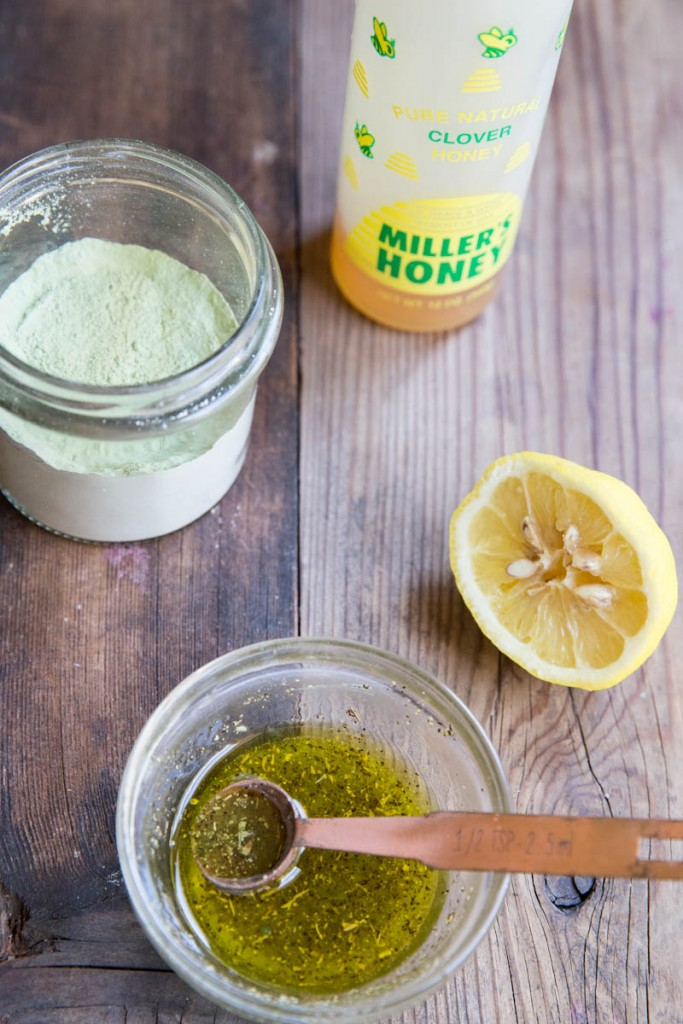 Green Tea, Honey and Lemon Marinade