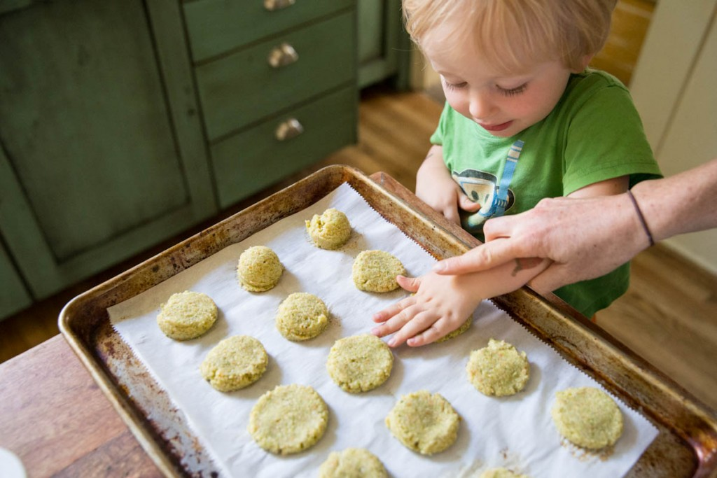 kid friendly veggie nugget recipe • theVintageMixer.com #kidrecipes #schoollunch