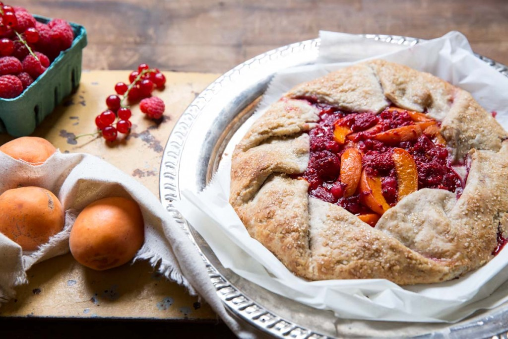 raspberry apricot galette recipe