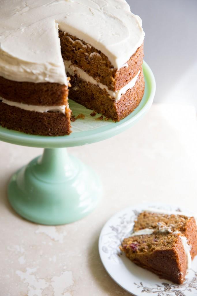 classic carrot cake recipe •theVintageMixer.com #eatseasonal