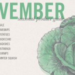 November Seasonal Recipes and Desktop Screensaver • theVintageMixer.com #eatseasonal #healthyrecipes