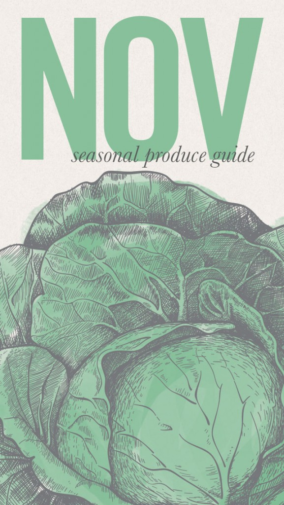 November Seasonal Recipes and iPhone Screensaver •theVintageMixer.com #eatseasonal #healthyrecipes