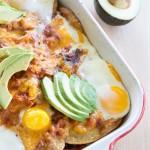 Huevos Rancheros Breakfast Casserole