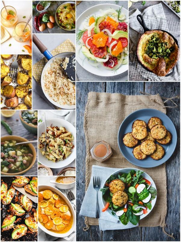 February Seasonal Recipes #eatseasonal • theVintageMixer.com #healthyeating #cleaneating