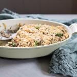 Broccoli and Chicken Quinoa Casserole