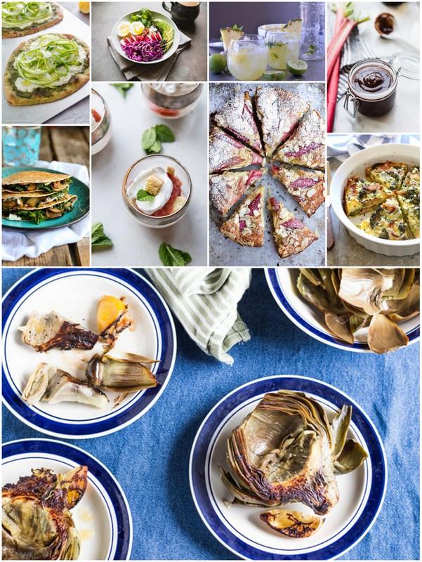 May Seasonal Recipes • theVintageMixer.com #eatseasonal