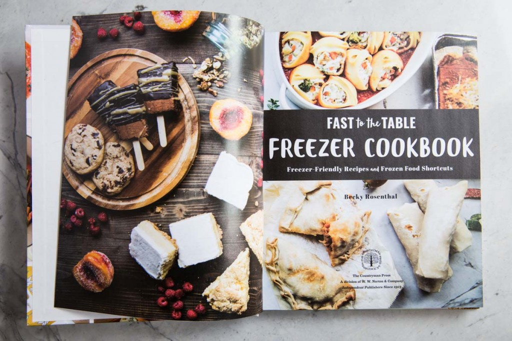 Fast to the Table Freezer Cookbook • theVintageMixer.com #cookbook #freezermeals