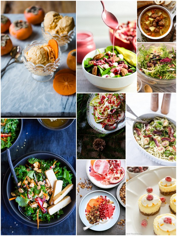 December Seasonal Recipes • theVintageMixer.com #eatseasonal #seasonalrecipes
