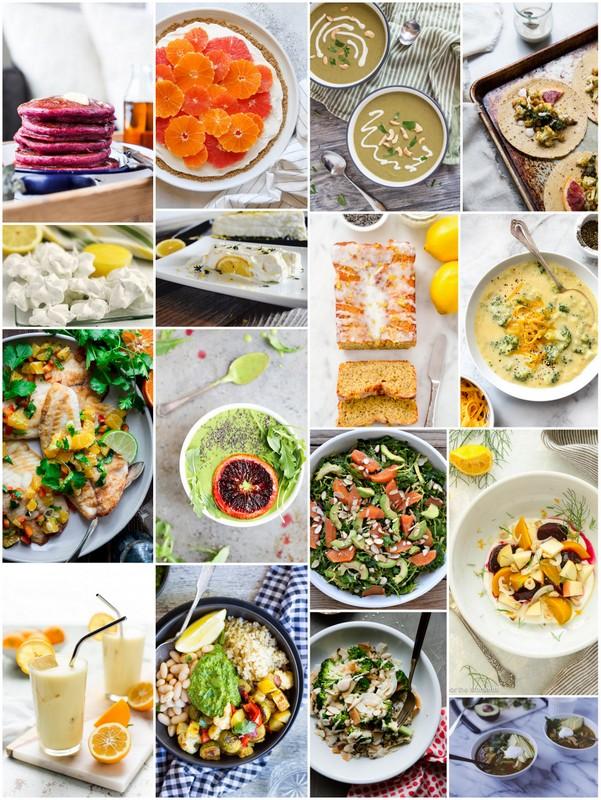 February Seasonal Recipes • theVintageMixer.com #seasoalrecipes #eatseasonal #healthyrecipes