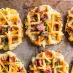 Loaded Baked Potato Waffles